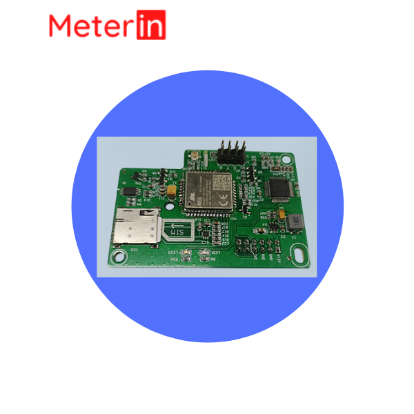 GPRS single phase electricity meter measurement